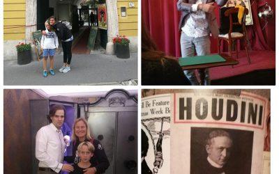 Cosa fare a Budapest: visitare la Casa di Houdini…imperdibile per tutti i futuri maghi!
