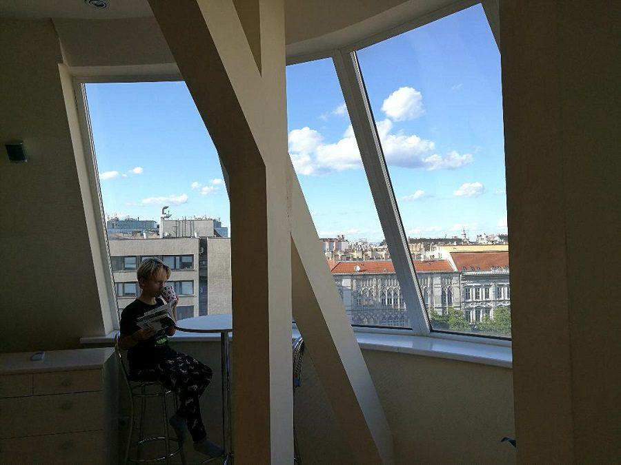 Dove dormire a Budapest. Camera con vista di fronte alla basilica di Santo Stefano.