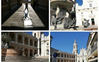 Marche con bambini. Loreto visita alla Basilica e alla santa Casa di Nazareth..con un incontro inaspettato!