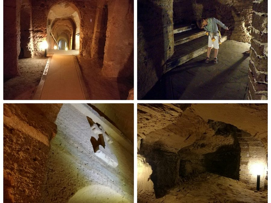 Marche con bambini. Visita alle grotte di Camerano … una misteriosa città sotterranea!