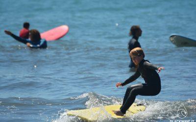 Surf a Recco con bambini