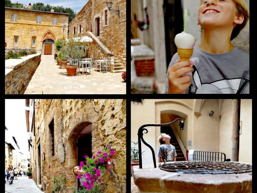Glamping in Tuscany visiting Assisi, Pienza, Bagno Vignoni and the Free Hot Springs of Bagni San Filippo