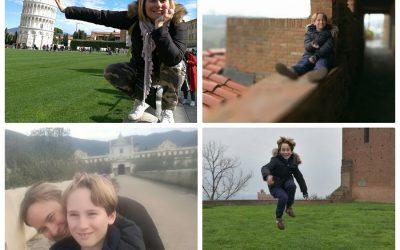 Toscana con bambini. Tour a Pisa, San Miniato, Vinci e Certosa di Pisa.
