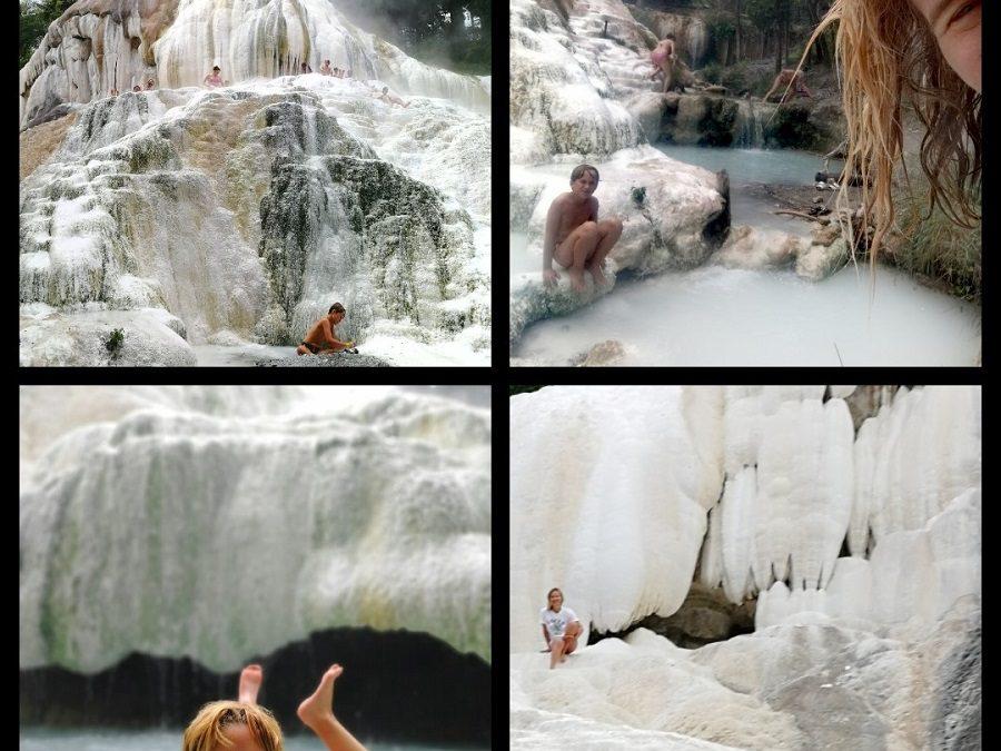 Bagni San Filippo: tour in Toscana con bambini – Bagni San Filippo…free hot springs in Tuscany!