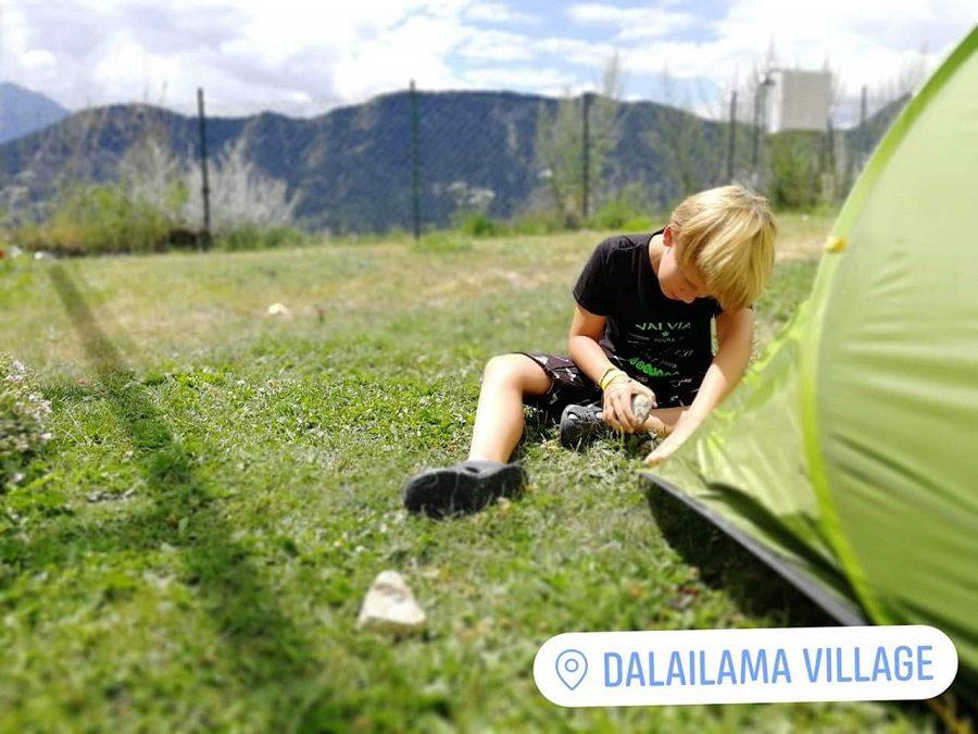 Campeggio con bambini in Valle d'Aosta