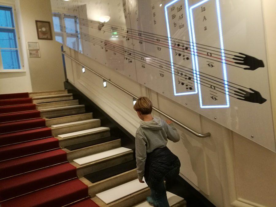 Vienna con bambini cosa fare? Visitare il museo della musica … e diventare un maestro d'orchestra!