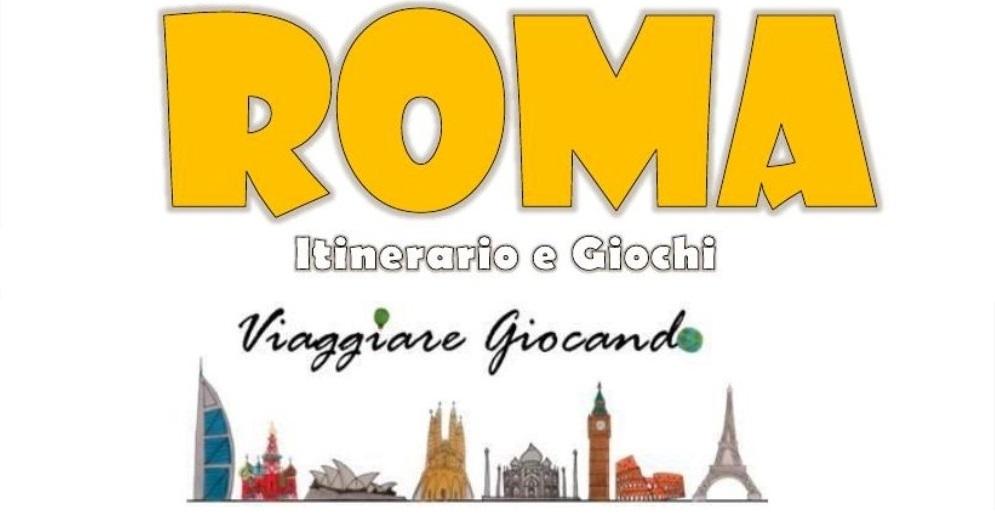 Roma con bambini. Guida, giochi e itinerario gratis da stampare o salvare su Kindle, Table o cellulare!