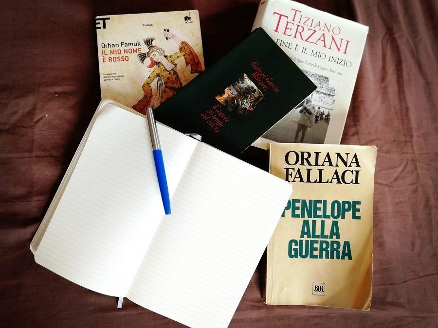 I miei 10 libri preferiti